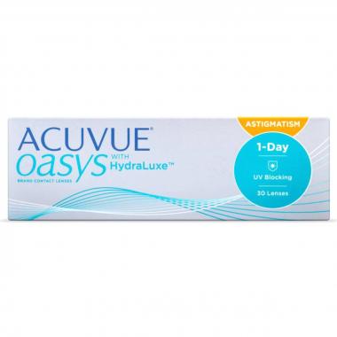 Контактных линзы 1-Day Acuvue Oasys for Astigmatism (30 линз)